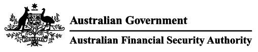 Australian Financial Security Authority (AFSA)