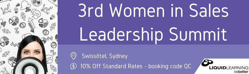 3rd Women in Sales Leadership Summit