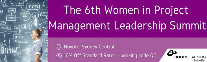The 6th Women in Project Management Leadership Summit 2018