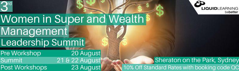 3rd Women in Super and Wealth Management Leadership Summit