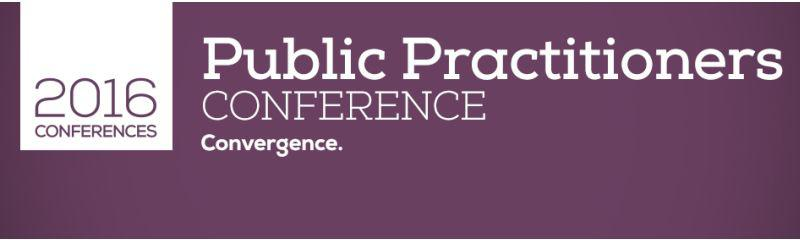 Public Practitioners Conference 2016