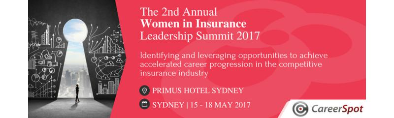 The 2nd Annual Women in Insurance Leadership Summit 2017